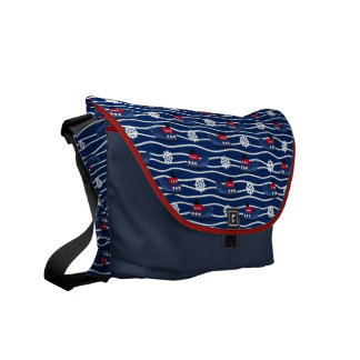 Of Fishing Boats & Steering Wheels Messenger Bag