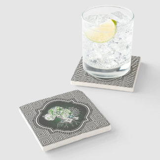 Of great dane Doggen Stone Coaster