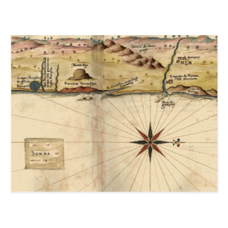 Of Guarapari to the South (1642) Postcard