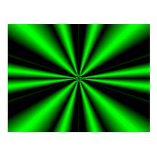 of hope green star postales
