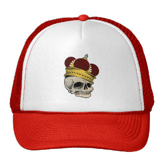 OF KINGS AND FINER THINGS (skull & crown) ~ Trucker Hat