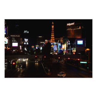 Of Las Vegas boulevard Photo Print