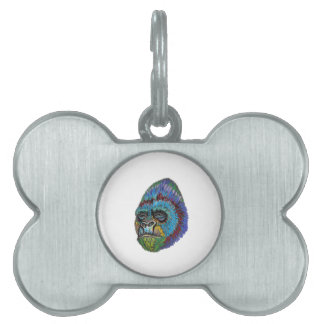 OF MANY COLORS PET ID TAG