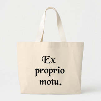 Of one's own accord. tote bag