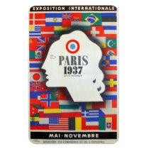 Of Paris world fair 1937 Magnet