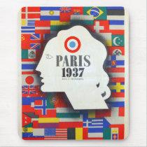 Of Paris world fair 1937 Mouse Pad
