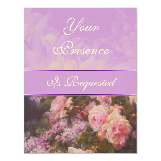 Of Peonies and Lilac Invitation