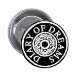 of plates diary dreams pinback button