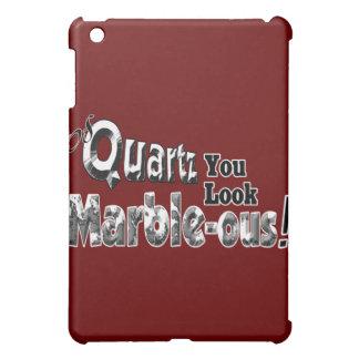 Of Quartz You Look Marble-ous iPad Mini Cover
