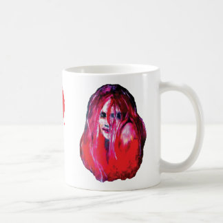 Of Shadow People--OSP Red Lady Mug