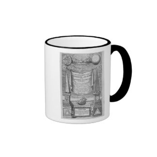 'Of the advancement and proficience of learning' Ringer Mug
