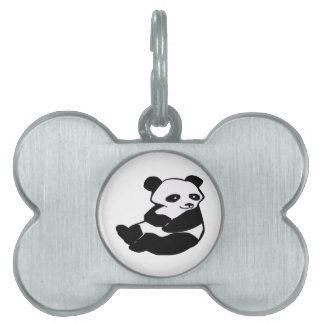 OF THE PANDA PET ID TAG