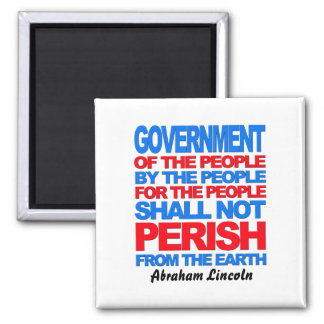 Of the People 2 Inch Square Magnet