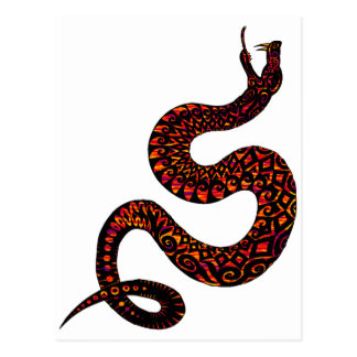 OF THE SERPENT POSTCARD