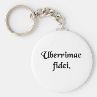 Of the utmost good faith. keychain