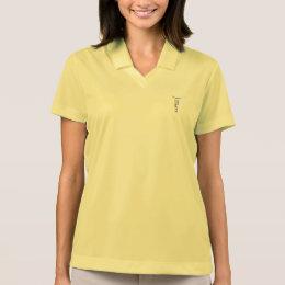 of tour™/logo polo shirt