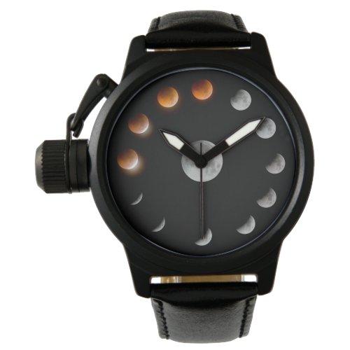 of tour™/lunar phase wristwatch