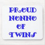of_Twins de Nonno Alfombrillas De Raton