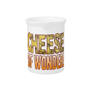 Of Wonder Blue Cheese Pitcher