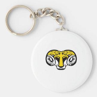of yellow ram BRUTAL TARMAC sucks Keychain