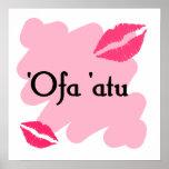 'Ofa 'atu - Tongan I love you Posters