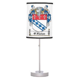 O'Faelan Family Crest Lamps