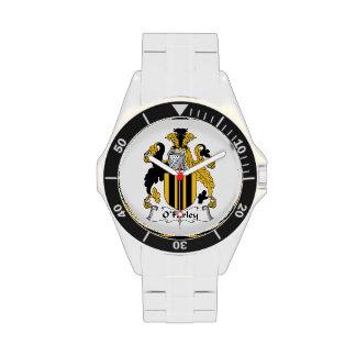 O'Farley Family Crest Wrist Watch