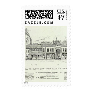 O'Farrell S side Stockton and Powell Postage