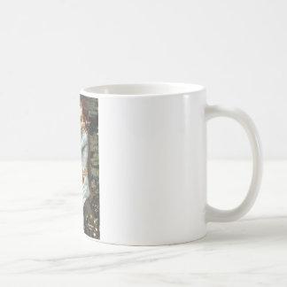 Ofelia - abisinio rojo taza
