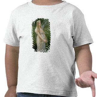 Ofelia (aceite en lona) camiseta
