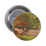 Ofelia del Preraphaelite del Victorian del vintage Pin