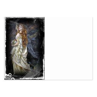 Ofelia en blanco plantilla de tarjeta de visita