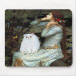 Ofelia - gatito persa blanco alfombrilla de raton