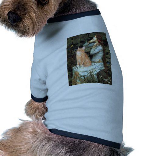 Ofelia - gato de Tabby anaranjado 46 Camisetas De Perrito