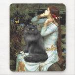 Ofelia - gato persa negro tapetes de ratones