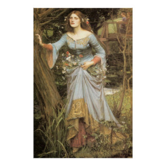 Ofelia - John William Waterhouse Posters