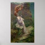 Ofelia que se ahoga, 1895 poster