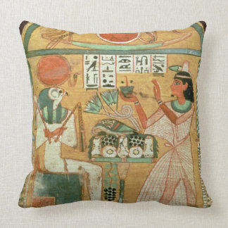 Ofenmut Offering to Osiris Stele of Ofenmut from Throw Pillow