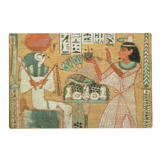 Ofenmut Offering to Osiris, Stele of Ofenmut from Placemat