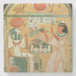 Ofenmut Offering to Osiris, Stele of Ofenmut from Stone Coaster