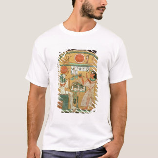 Ofenmut Offering to Osiris, Stele of Ofenmut from T-Shirt