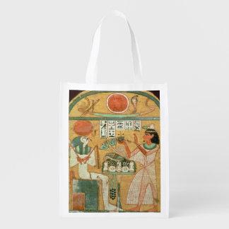 Ofenmut que ofrece a Osiris, Stele de Ofenmut de Bolsa Reutilizable
