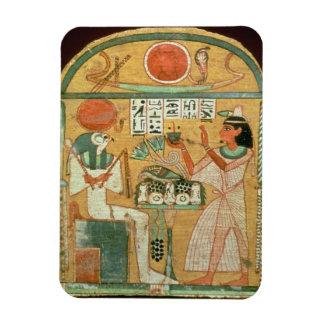 Ofenmut que ofrece a Osiris, Stele de Ofenmut de Imán De Vinilo