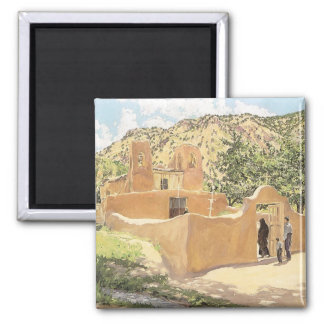 Oferta Para San Esquipula by Walter Ufer 2 Inch Square Magnet