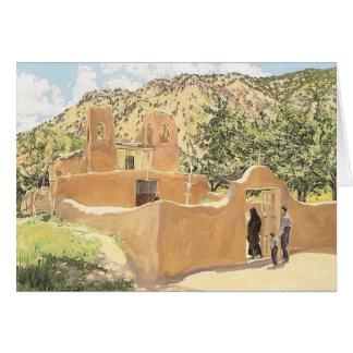 Oferta Para San Esquipula by Walter Ufer Card