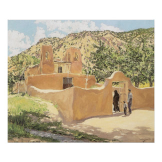Oferta Para San Esquipula by Walter Ufer Poster
