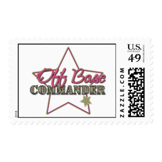 Off Base Commander Stamp