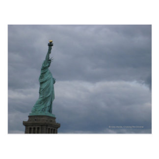Off-center The Statue of Liberty Postcard