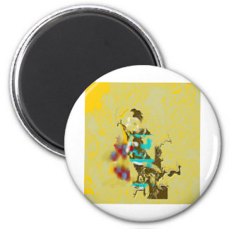 Off Course 2 Inch Round Magnet