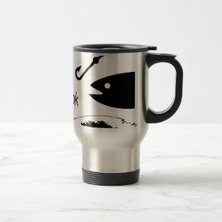 Off da hook travel mug